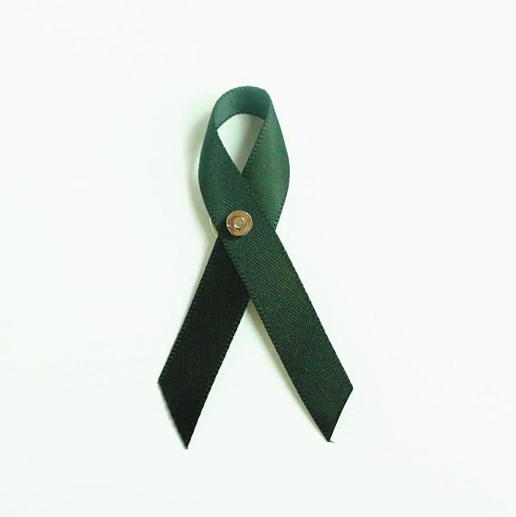 US $23 75 5% OFF|100pcs Awareness Pins Black Awareness Products awareness  ribbons memorial ribbons remembrance ribbons charity Free shipping on