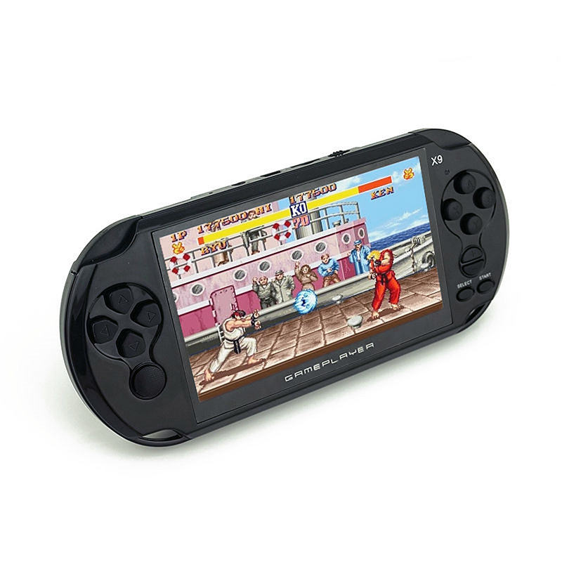 Handheld Game Player 5 inch Large Screen 8GB Memory with Camera Massive Classic Game Multiple Document Format Supported 2 5 inch tft display handheld game player 8 bit video game