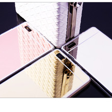 Luxury Mirror Electroplating Soft Clear TPU Case cover For huawei P10 P8 P9 Plus Lite Nova 2 Enjoy 6S 6C Enjoy 7Plus Honor 6A 4A