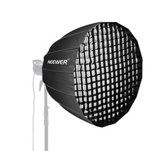 28/38/48-inches Softbox Bowens-Mount Deep-Parabolic Neewer External-Diffuser with Removable