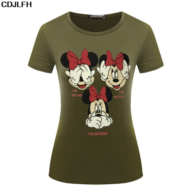 Women Vogue Casual Funny T Shirt