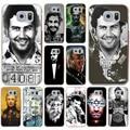 Pablo Escobar Conor Mcgregor Foggy Dew Hard Case for Galaxy A3 A5 A7 8 J5 J7 & Note 2 3 4 5 Grand 2 & Prime