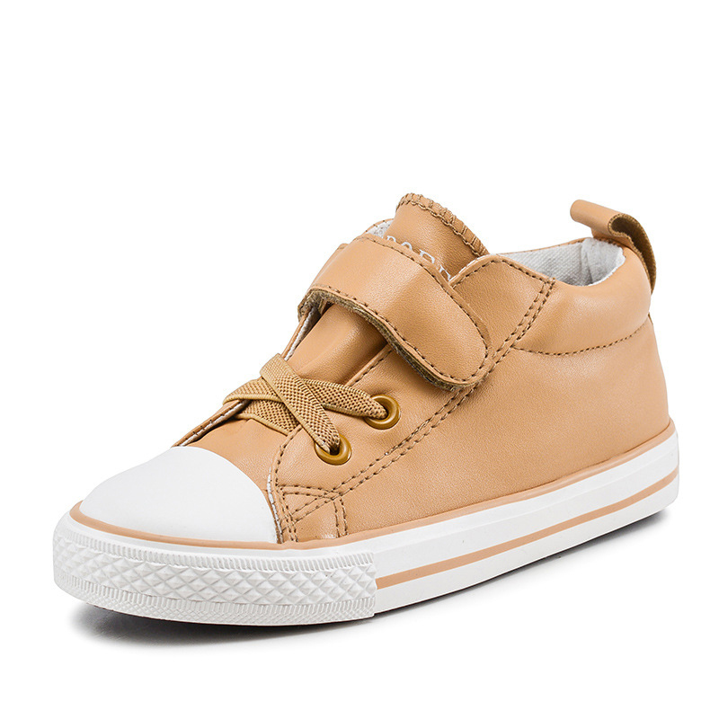 2017 Autumn Kids Shoes Child Canvas Shoes High Sneakers Sport Shoes Male Girls Boys Casual Shoes for School 25-37