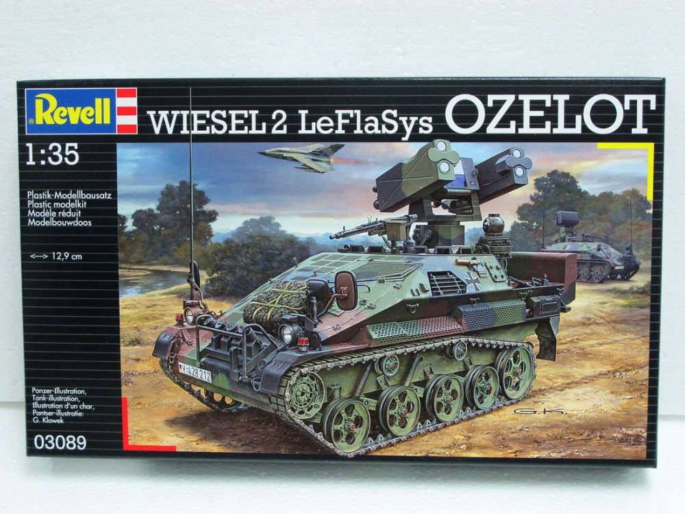 revell 1 35  REVELL 03089 1/35 Scale Wiesel 2 LeFlaSys OZELOT-in Model Building ...