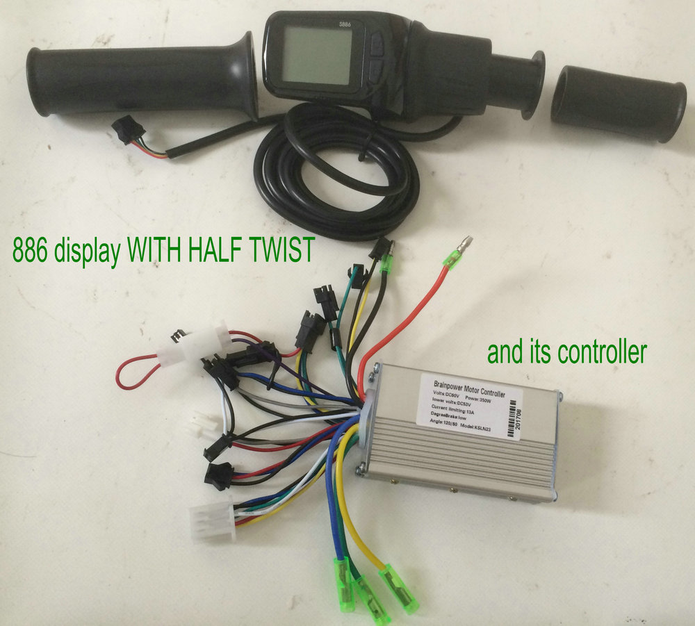 886 display with throttle and its controller (4)