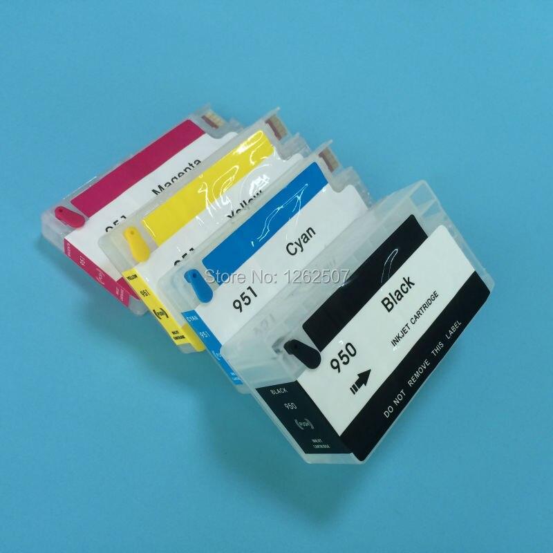 Nachfüllpackung Tintenpatronen mit auto-reset-chips hp950xl 951XL für hp officejet 8610 8620 8630...