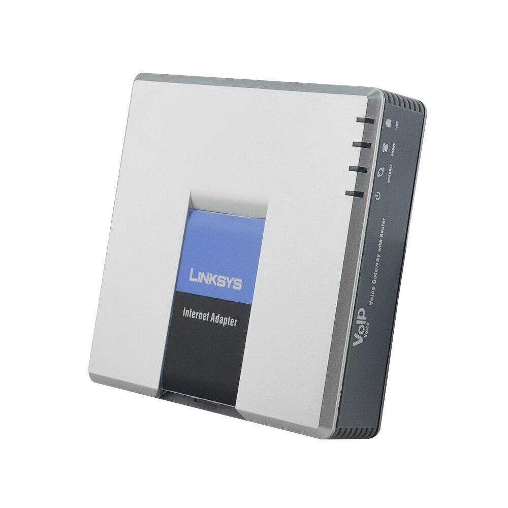 Livraison Gratuite! LINKSYS Débloqué Téléphone adaptateur SPA3102 Voip ATA adaptateur Meilleur SPA3102 Voip téléphone Routeur 1FXO 1 FXSVoip pas la boîte de détail