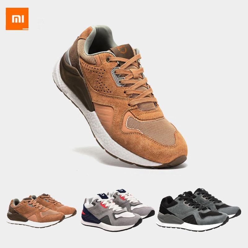 Date Xiaomi Mijia chaussures hommes rétro Sports et baskets décontractées vêtements respirants résistant aux chocs élasticité chaussures