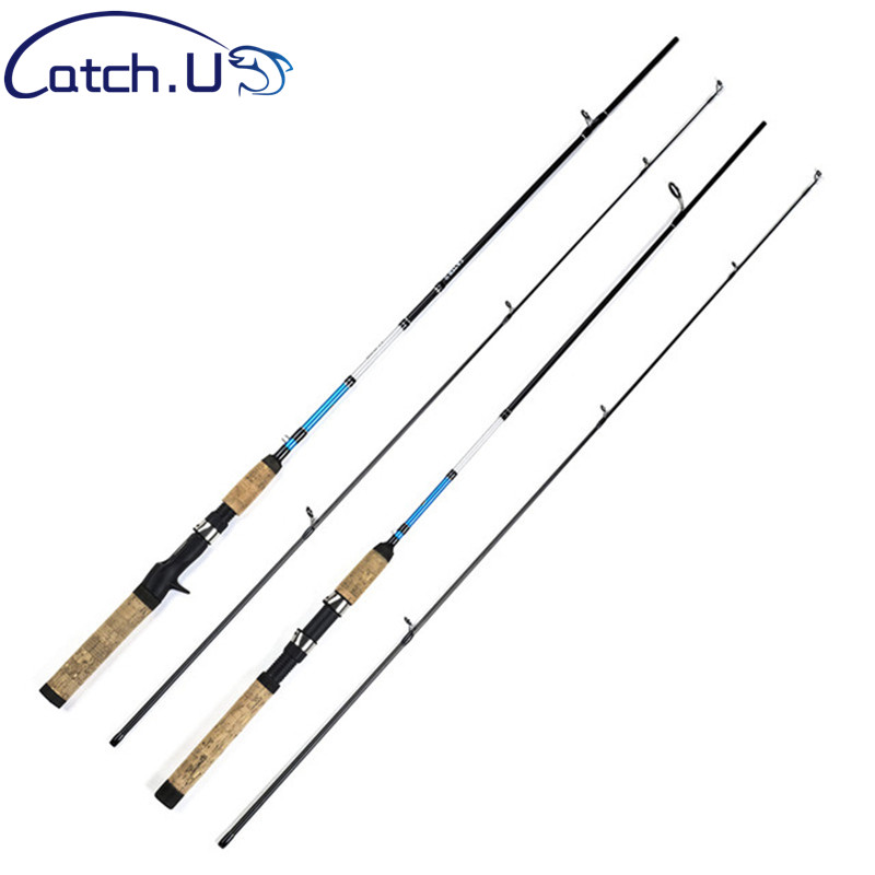 7 M Actions 3-15g Test 6-10lb Casting Spinning Lure Carbon Fishing Rod