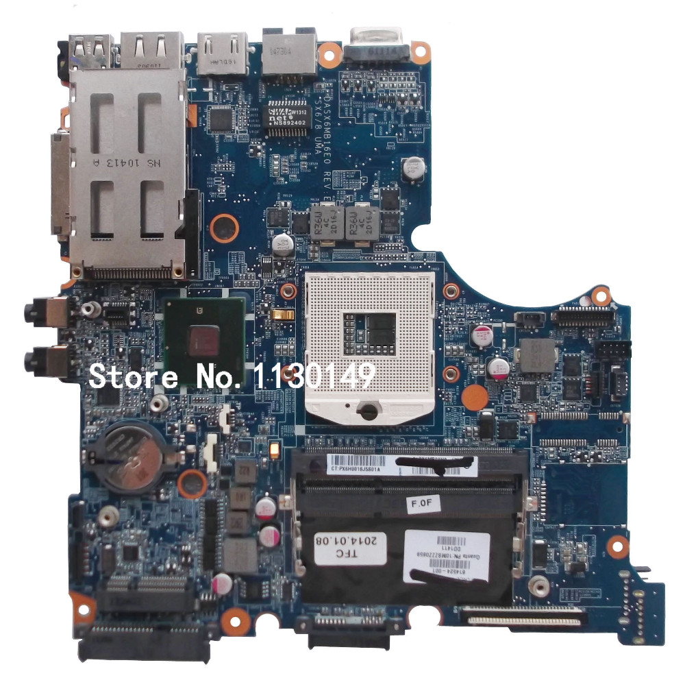 ФОТО Free Shipping Original FOR HP Probook 4320S Motherboard DASX6MB16E0 614524-001 100% Test ok