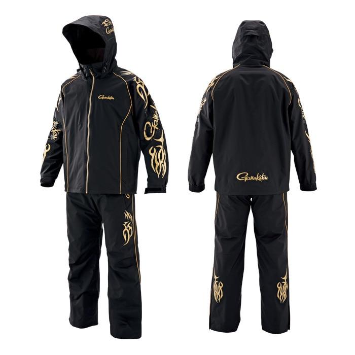 2019 nuevo Gamakatsu ropa de pesca impermeable a prueba de viento chaqueta y pantalones de pesca para deportes al aire libre camisas de pesca para hombres traje de pesca