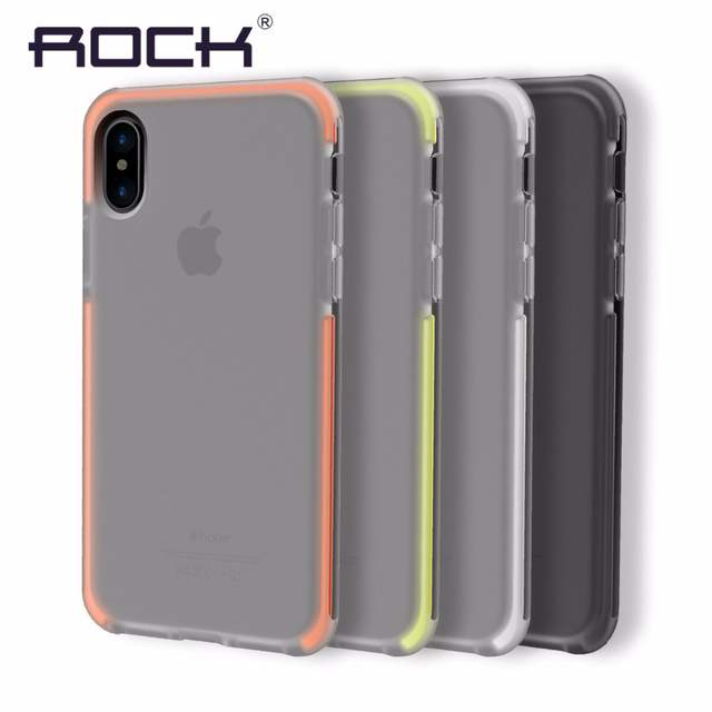info for 5fc56 0868e Original For iPhone X Case Cover Elastic Soft TPU + Flexible TPE Hybrid  Case for iPhoneX Cover Shockproof Protective Shield