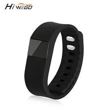 Hiwego бренда smart Группа фитнес трекер Bluetooth 4.0 Спорт Смарт шагомер браслет для IOS Android TW64 браслет SmartBand