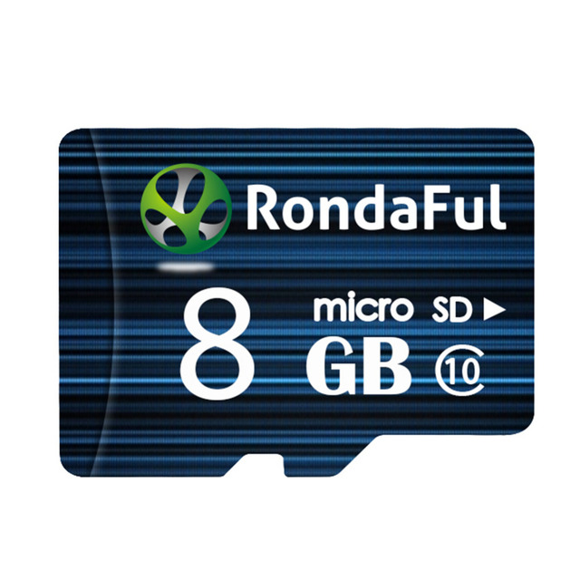 Rondaful Micro SD Card 64GB Class 10 8GB-128GB Class10 UHS-1 32GB/128GB C10 Flash Memory Microsd Memory Card for Smartphone