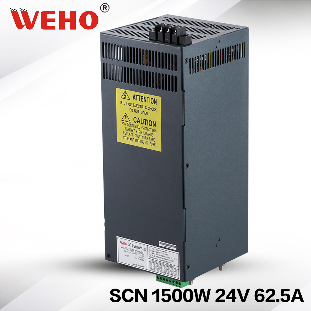 (SCN-1500-24) Stable DC tension source 24 v dc 1500 w 3D (4D) impression de commutation alimentation 24 volts 1500 w alimentation