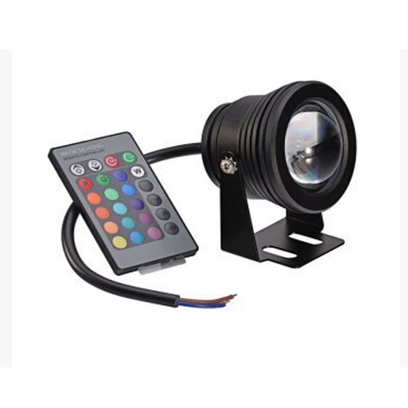 Image 5 - 10W LED RGB Swimming Pool Pond Light Coloful Fishing Lamp with Remote Control-in Marine Hardware from Automobiles & Motorcycles
