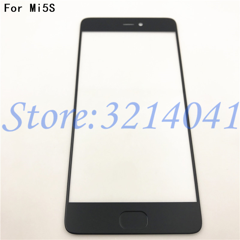 Original 5.15 inches For Xiaomi Mi5S Mi 5S Front Glass Screen Panel Mobile Phone Replacement Parts