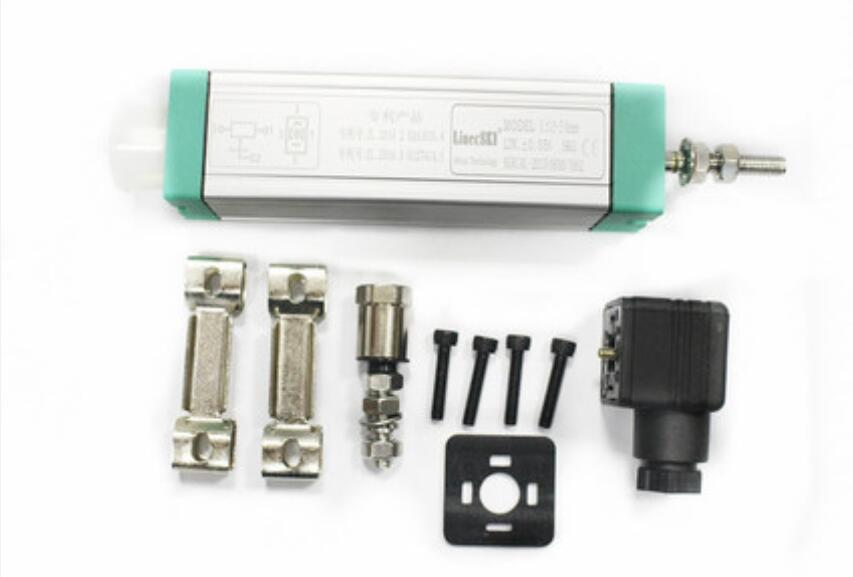linecski LS-250mm rod linear displacement sensor resistance meter injection molding machine electronic scale replace Jeffrun linear position potentiometer linear displacement sensor trolley electronic scale injection molding machine electronic scale