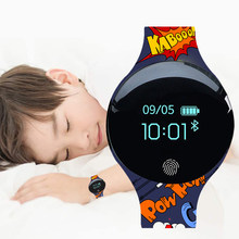 Children Watches Bracelet Smart Watch Kids 3D Touch Screen Digital Led Sport Watch Silicone Child Wrist Clock Relogio Masculino(China)