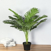 70 CM Real Touch Silk Artificial Tree Plant Tropical Fake Tree Plant Home Garden Decor No pot