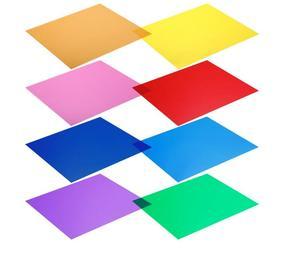 """Image 2 - Selens 12 """"/30 CM 8/11 Set Pack von Gel Blatt Transparent Farbe Korrektur Licht Gel Filter für Fotografie yongnuo Strobe Flash"""