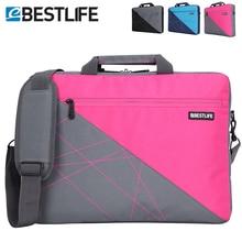 BESTLIFE 大容量のノートパソコンのための女性旅行ブリーフケース商務ノートブックバッグショルダークロスボディバッグ