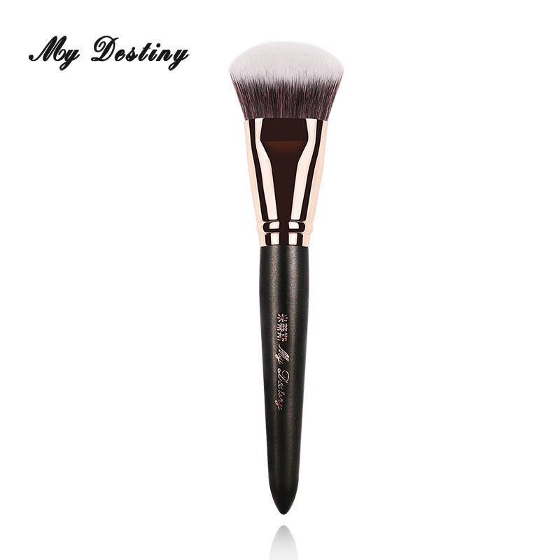 MY DESTINY Round Foundation Brush for Base Make Up Makeup Brushes Pincel Maquiagem Brochas Maquillaje Pinceaux Maquillage 007 energy brand weasel concealer brush makeup brushes make up brush pinceaux maquillage brochas maquillaje pincel maquiagem m101