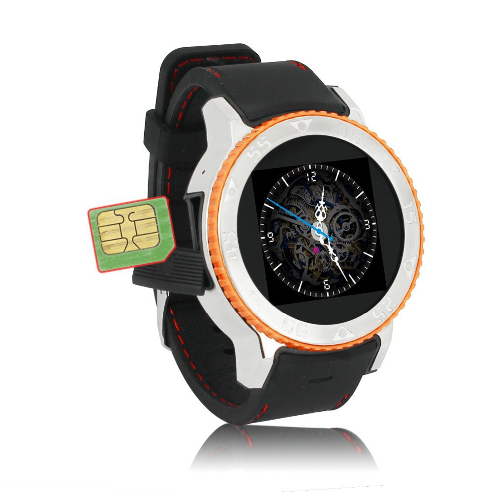 3G Dual Core Android Wear Smart Watch Phone Bluetooth Camera Watches GPS WIFI Digital font b