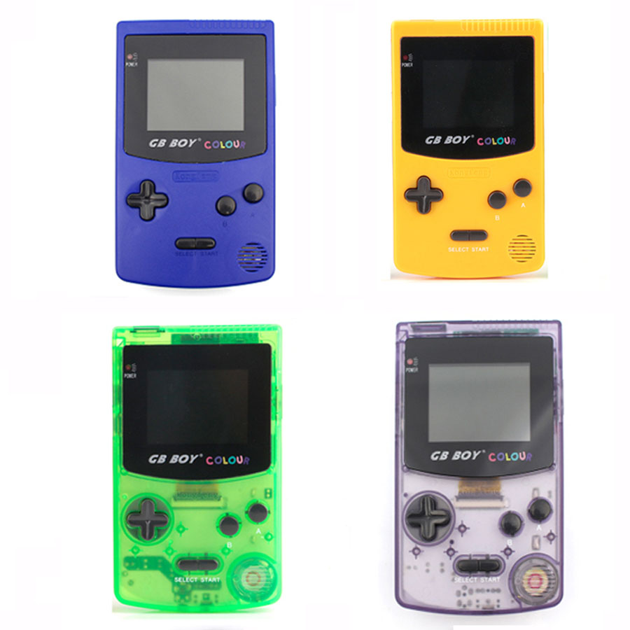 """GB Boy Colour Color Handheld Game Player 2.7"""" Portable Classic Game Console Consoles With Backlit 66 Built-in Games"""