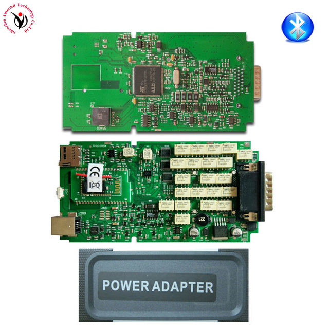 Best Price New Arrive Single One Board Green PCB VD TCS CDP Pro Bluetooth +2016 Release0 /2015 Release3 diagnostic tool Cars Trucks Scanner