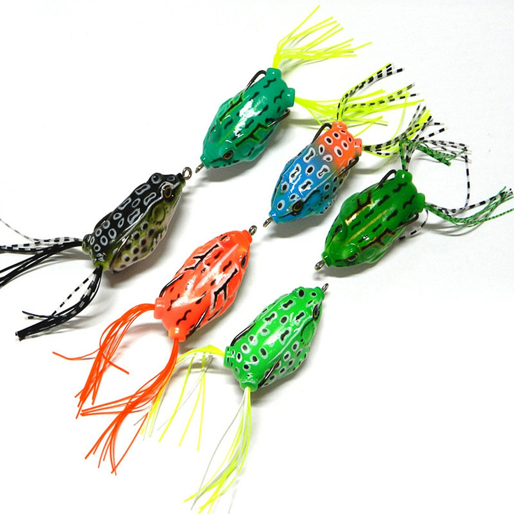 Hengjia frog lure lure bass fishing hooks bait for Best hooks for bass fishing