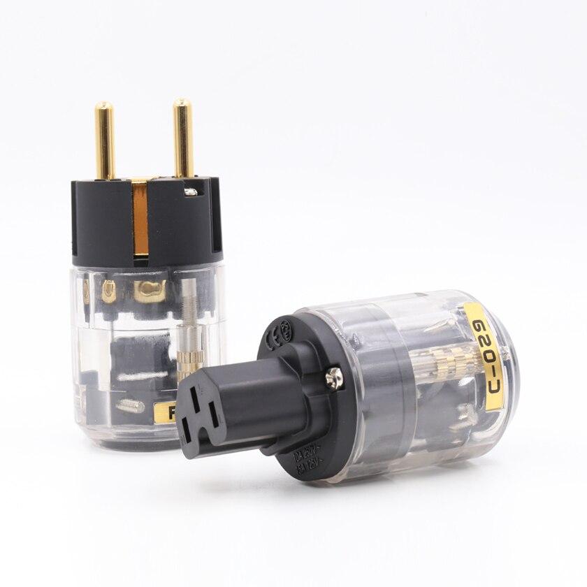 Envío libre oyaide P-029E/C-029 versión EU Plug Power IEC para el cable de transmisión audio