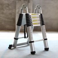 М 3,1 м m + 3,1 m портативный алюминиевый AlloyTelescopic лестница с соединением многоцелевой выдвижной прямой лестница регулируемая лестница