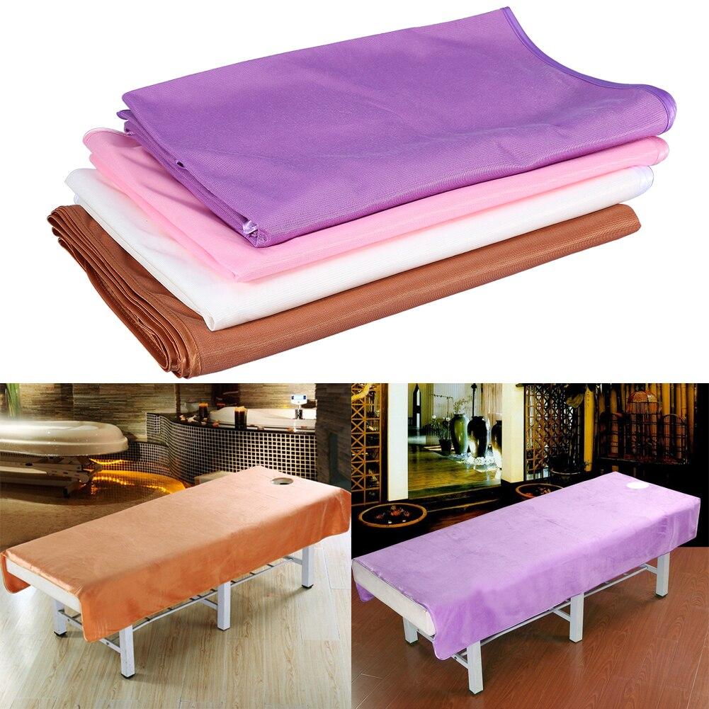 2 Sizes Salon Nail Art Soft Beauty Bed Cover Sheets Massage Sheet