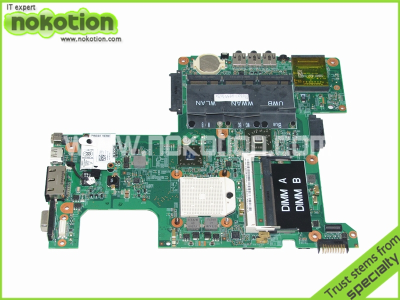 Laptop Motherboard for Dell Inspiron 1526 AMD Mother Boards C951K CN-0C951K 48.4W001.03M DDR2 Mainboard Full Tested cn 0md666 laptop motherboard for dell inspiron 6400 e1505 da0fm1mb6f5 rev f 945gm ddr2 mainboard mother boards
