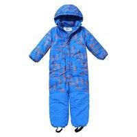 Moomin 2019 yeni moda çocuk kış genel sıcak su geçirmez kış tulum dış giyim-20 derece kar genel erkek mavi