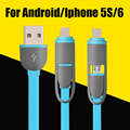 Hot Selling 1M Micro USB Cable High quality Charging Cable for iPhone 5s 6 plus ipad 4 5 For Samsung S4 S5 S6 for Android
