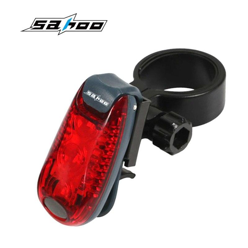 2 режима мигает 3 <font><b>LED</b></font> Велоспорт Предметы безопасности предупреждение задние фонари MTB Горный Велосипеды велосипед задний свет дождя Водонепр&#8230;