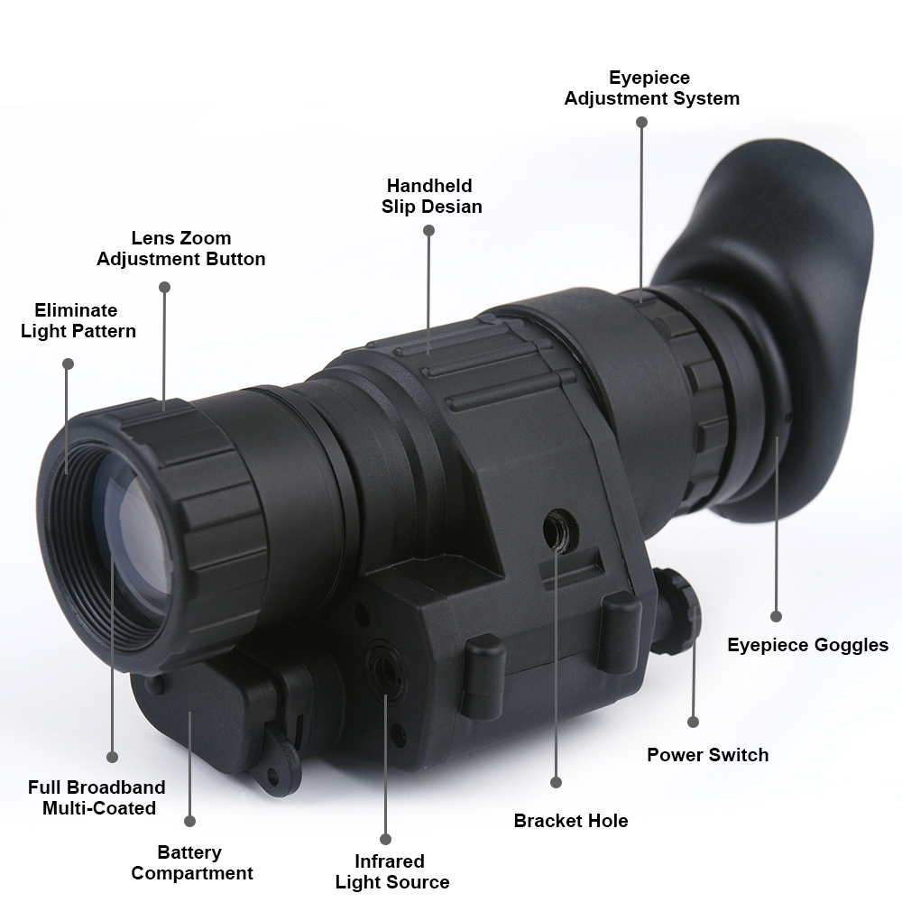 Night Vision Hunting Monocular-2x30-Riflescope-Digital-IR-Monocular-Night-Vision-Telescope-For-Helmet Scope