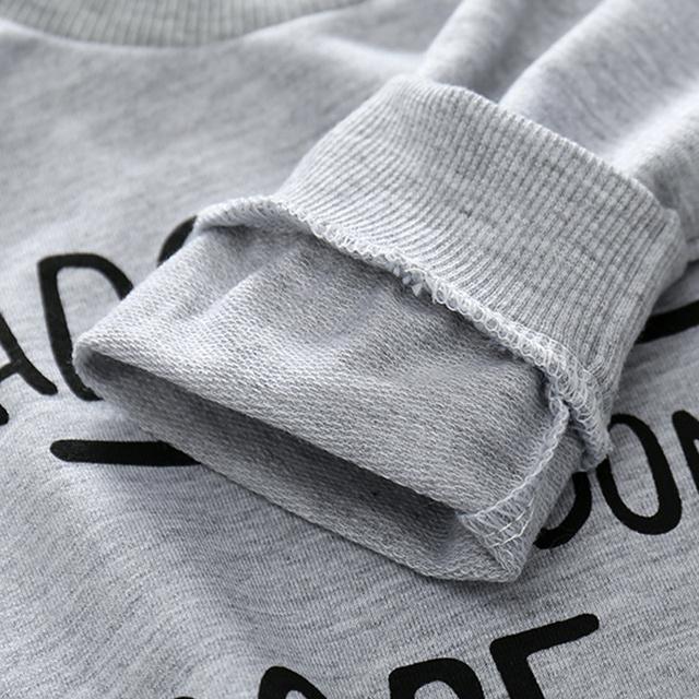 Tem Doger Baby Boys Clothing Sets Winter Infant Boys Clothes Suit Long Sleeve Sweatshirt+Long Pants+Hat 3PCS Newborn Outfits Set