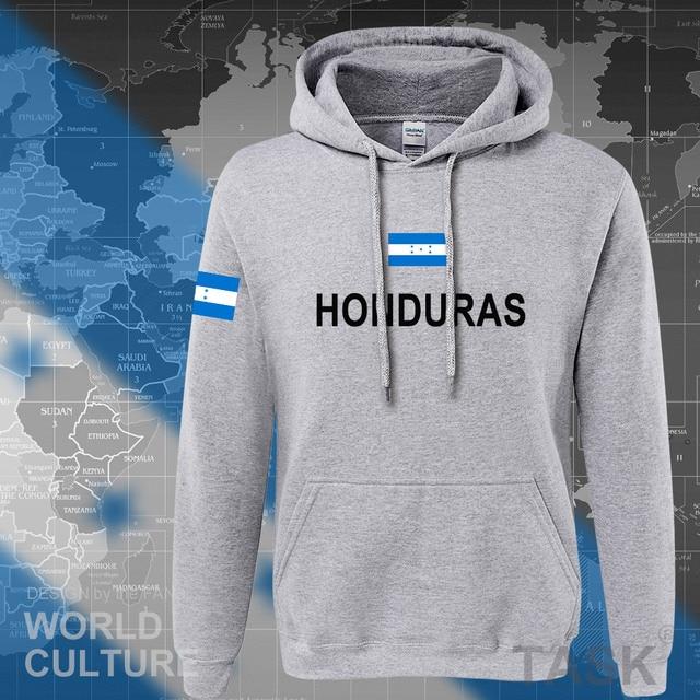 Honduras hoodies men sweatshirt sweat new hip hop streetwear tracksuit nation clothing sporting country HND Honduran Catracho 5