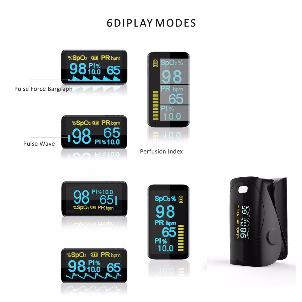 Pulse Oksimeter, Jari Oximetro, Mengukur Akurat Untuk Peralatan - Perawatan kesehatan - Foto 3