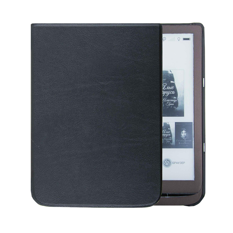 כרית דיו 740 7.8 inch מקרה לארנק 3 ספר אלקטרוני מגנטי אוטומטי/שרות מקרה לוח + מתנות