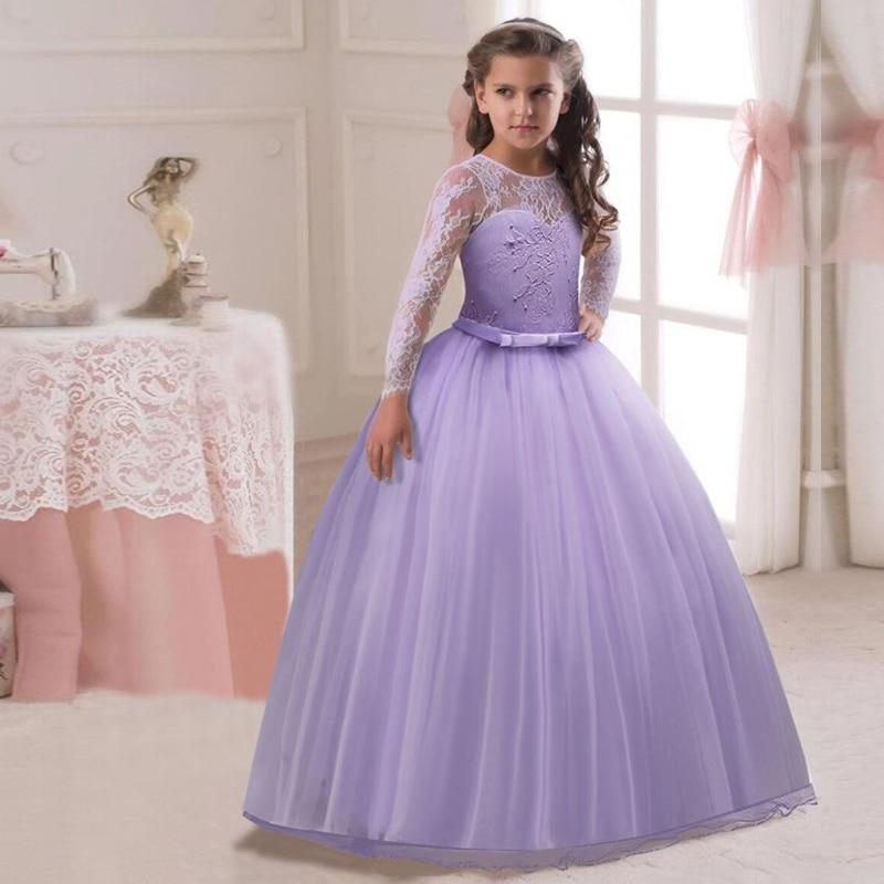 Moda nuevo diseño vestido para chica desgaste del partido niños ropa ...