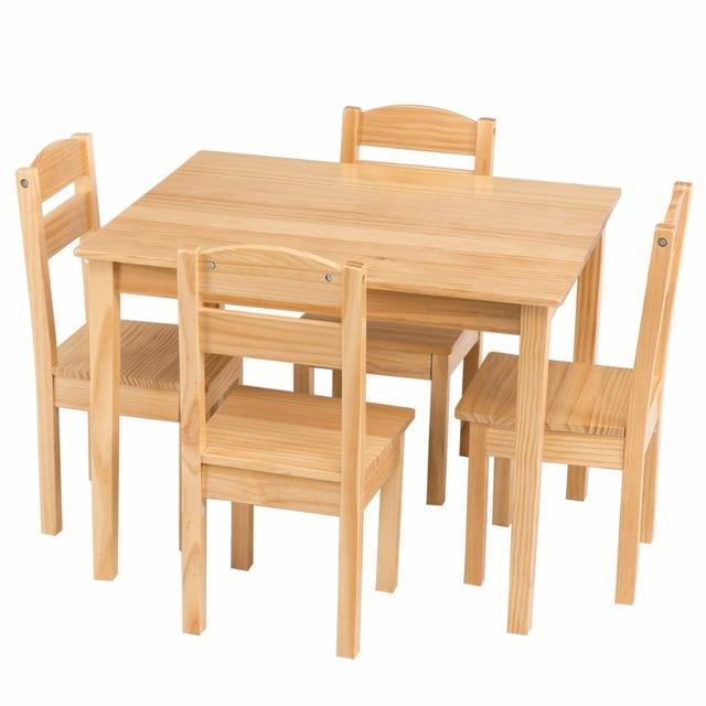 5 Piece Children's Table/Chair Set  4
