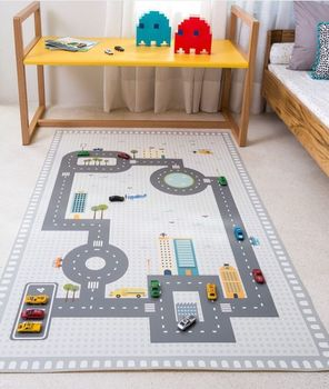 Baby Carpet Cotton Rug Baby Play Mat Activity Game Playmat Decoration Children Room Mat Kids puzzle highway Toys Carpet