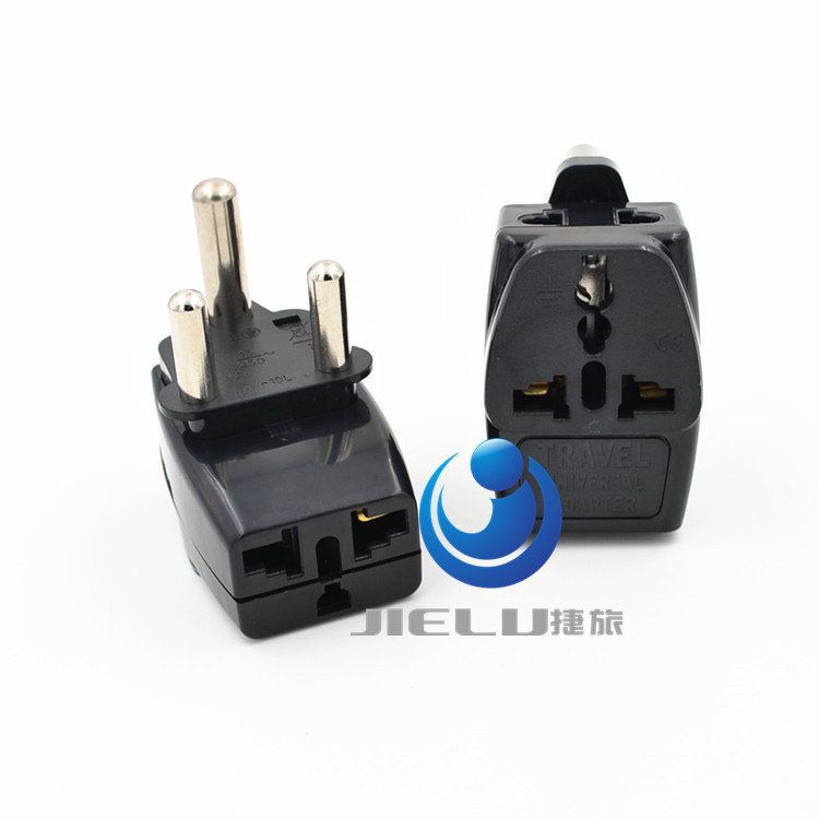 2016   Type M Large 15 amp BS 546, 2 Port Multi Outlet Black Color 1 TO 3  EU AU USA PLUG 16A South Africa Travel Adapter wd 010 5pcs south africa plug to universal socket adapter