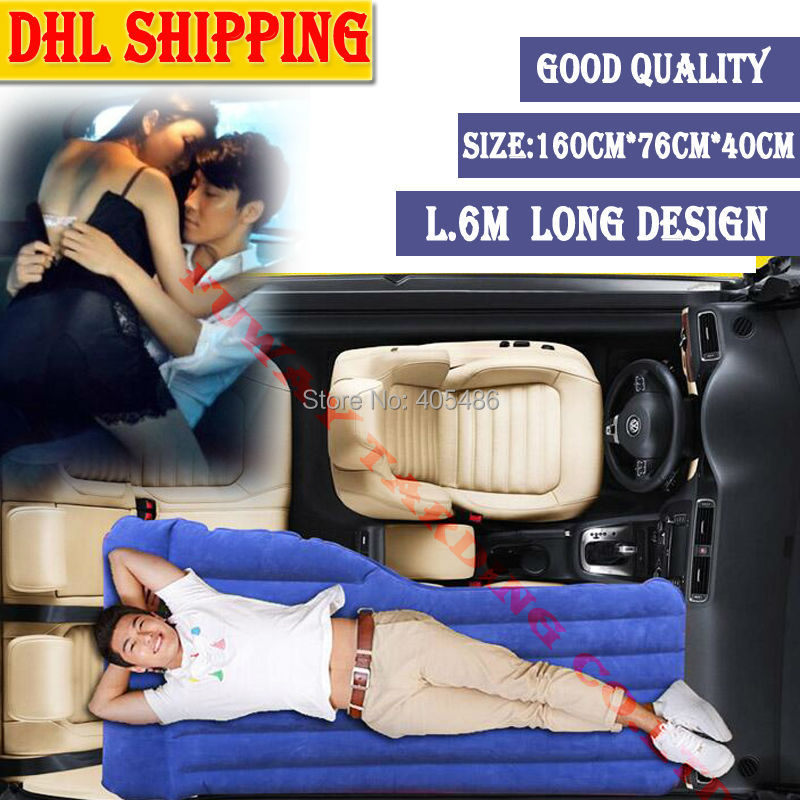 DHL Travel Bed Car front Back Seat Cover Mattress Car Inflatable car Bed for FOR AUDI