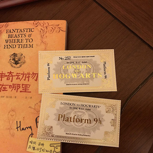 Image 4 - New Popular The Marauders Map HP Harry Wizard School Ticket Students Collection Gifts Fans Party