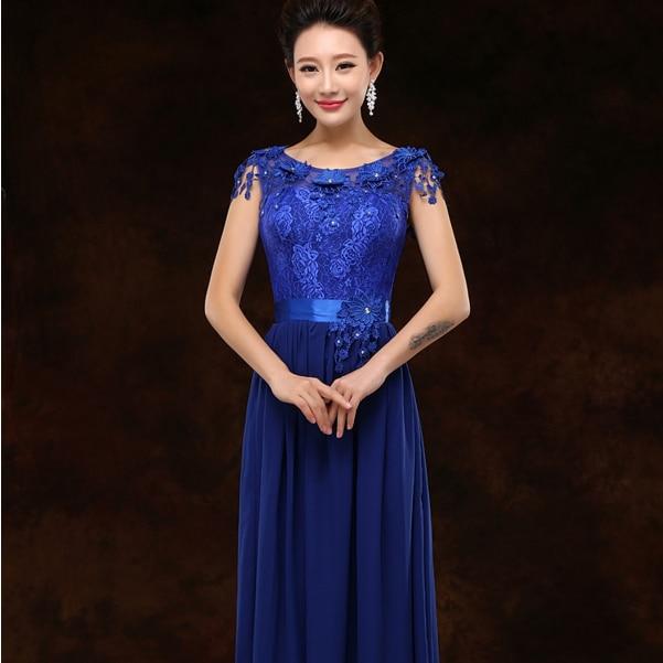 Cobalt blue semi formal dress